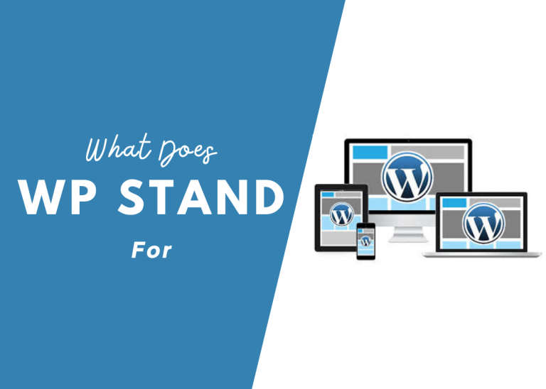 What Does WP Stand For