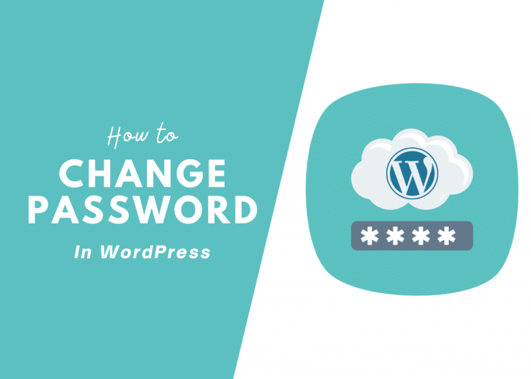 How to change your WordPress password in 3 simple steps