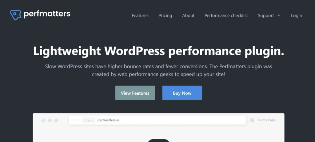 WordPress Performance Plugins to Boost Your Speed Importance of Speed for your WordPress Site Perfmatters