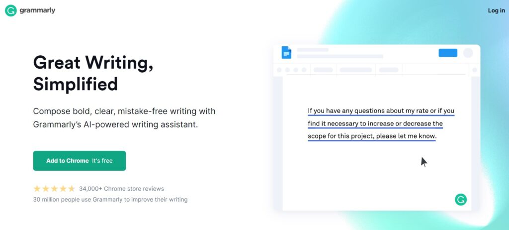 Best Free Chrome Extensions You Need Grammarly