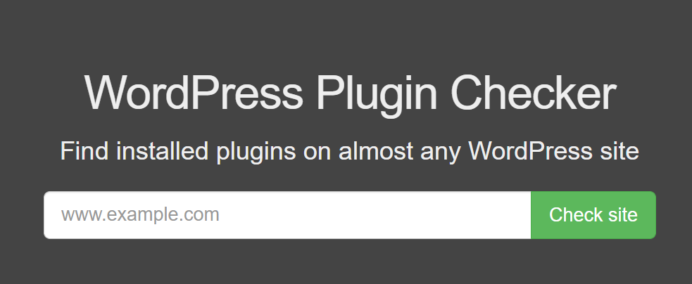 How to Detect Which WordPress Plugins a Website Uses WordPress Plugin Checker